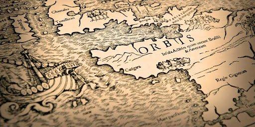 Cartegeografiche della traversata atlantica a vela