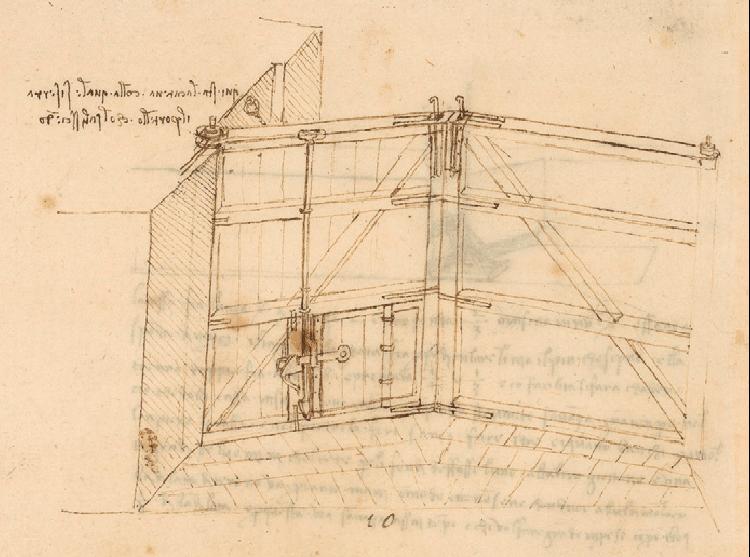Le chiuse di Leonardo da Vinci