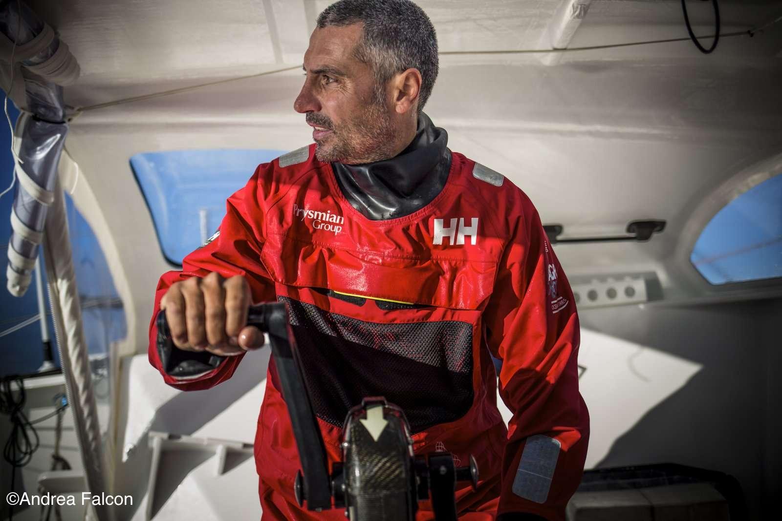 Giancarlo su Pryslian Group. Immagine di Andrea Falcon