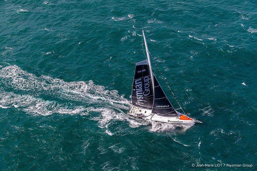 Prysmain Group in navigazione prima della Rolex Fastnet Race